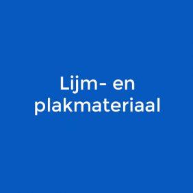 Lijm- en plakmateriaal